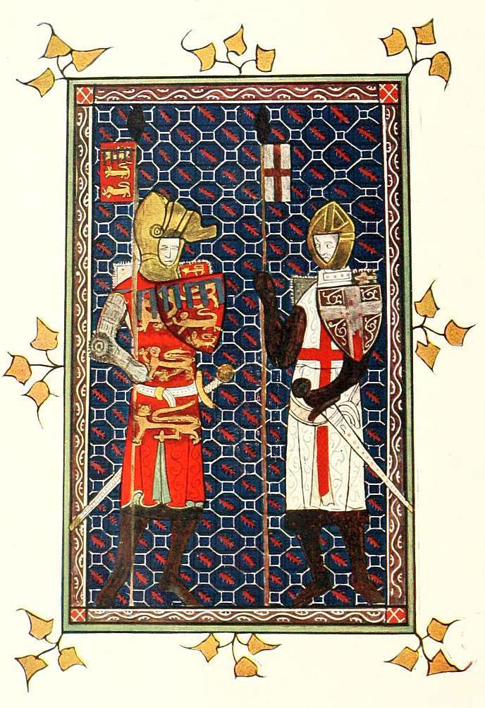 St. George and Plantagenet Earl of Lancaster_socialengland02trai_0010.jpg