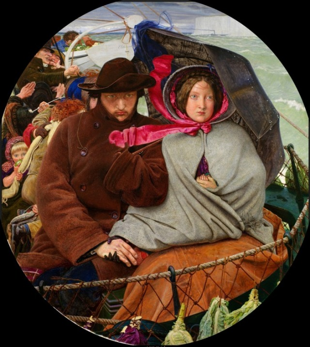 Madox Brown - The Last of England_sm