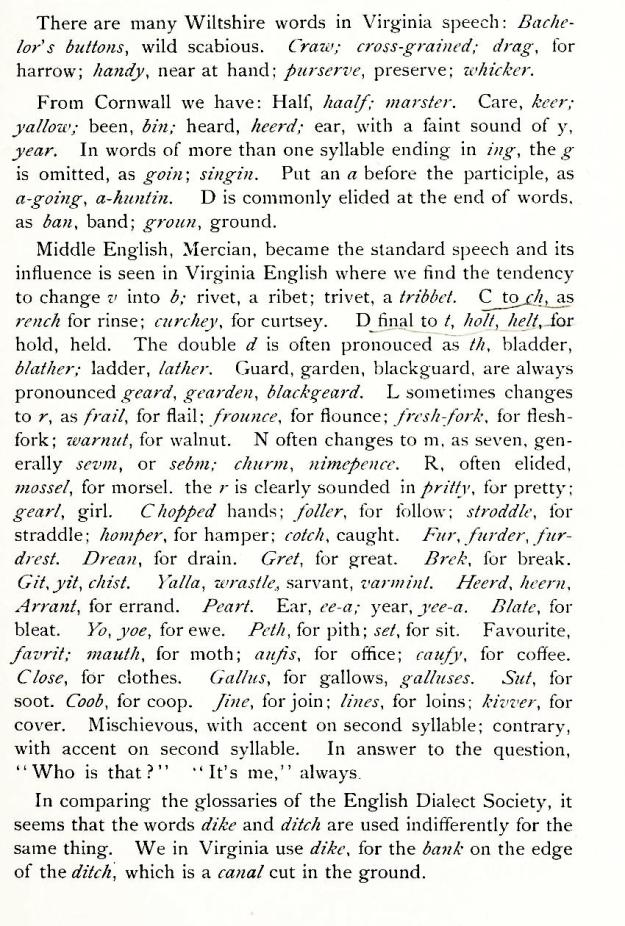 Wiltshire words in Virginia speech_wordbookofvirgin00gree_0013